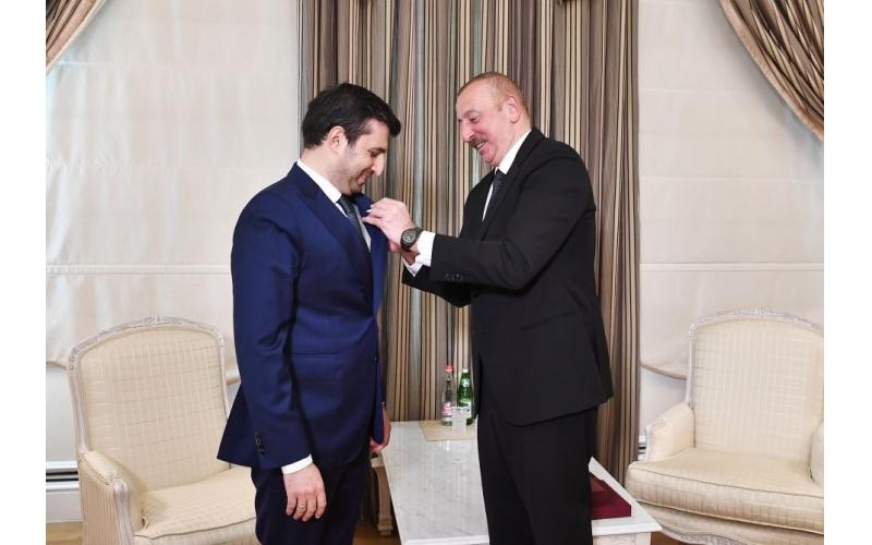 Prezident İlham Əliyev Selçuk Bayraktarı