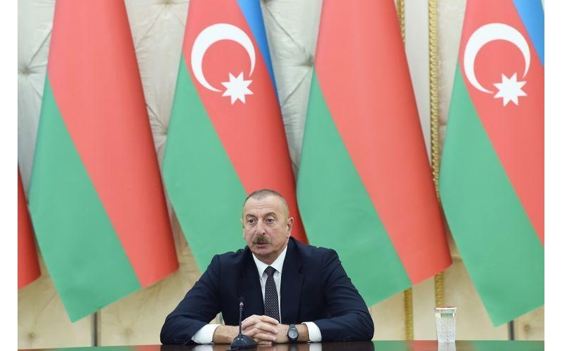 """Prezident İlham Əliyev: """"Zəngəzur dəhlizi reallığa çevrilir"""""""