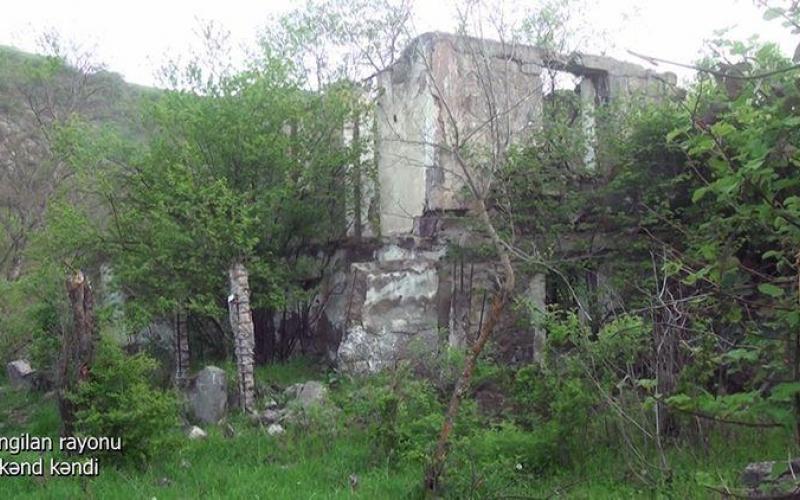 Zəngilanın Ağkənd kəndi - VİDEO