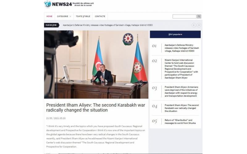 Əcnəbi media  Cənubi Qafqazda regional inkişaf və əməkdaşlıq perspektivləridən yazıb