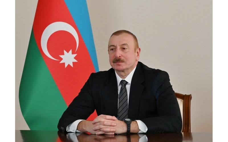 Prezident İlham Əliyev regionun gələcək inkişafının necə ola biləcəyini bütün dünyaya bəyan etdi
