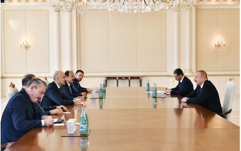 Prezident İlham Əliyev: Biz yeni bir koridor üzərində çalışırıq - Zəngəzur koridoru