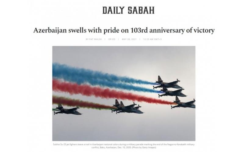 """""""Daily Sabah"""" nəşrində Azərbaycan barədə məqalə yayımlanıb"""