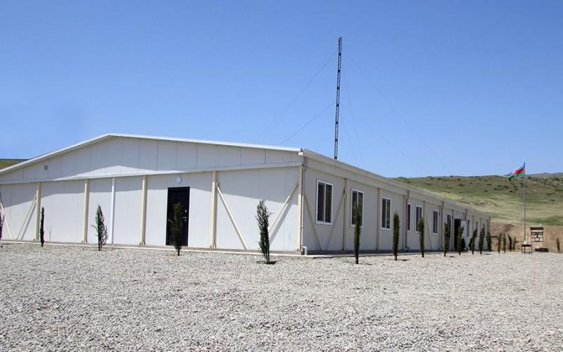 Ağdam rayonu ərazisində yeni hərbi hissələrin açılışı olub