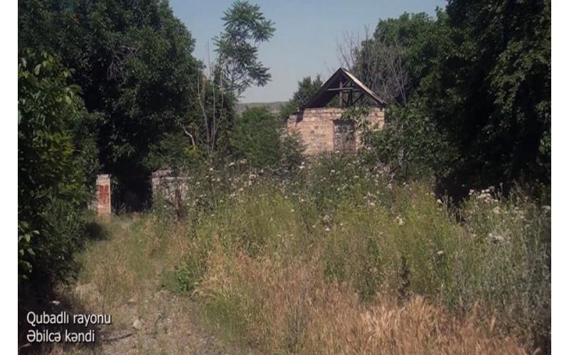 Qubadlının Əbilcə kəndi - VİDEO