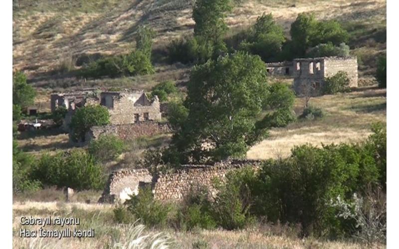 Cəbrayılın Hacı İsmayıllı kəndi - Video