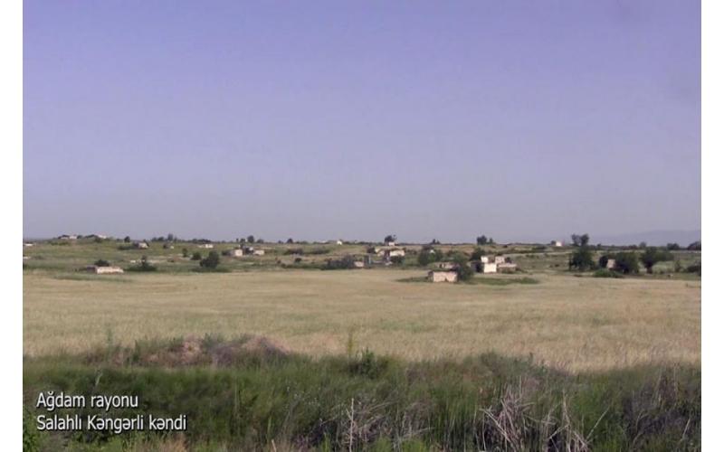 Ağdamın Salahlı Kəngərli kəndi - VİDEO