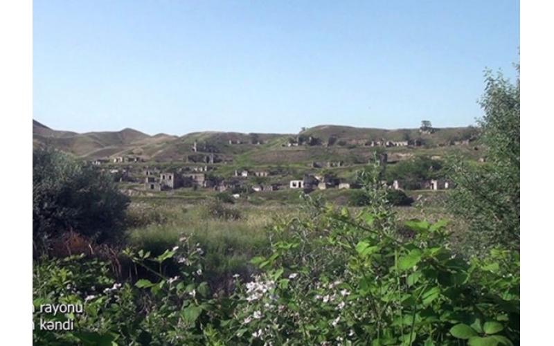 Zəngilan kəndinin video görüntüləri