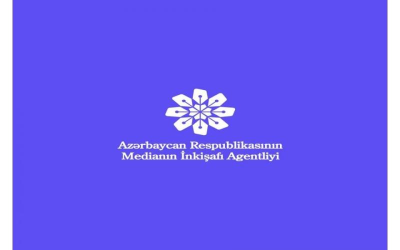 Medianın İnkişafı Agentliyi açıqlama yaydı
