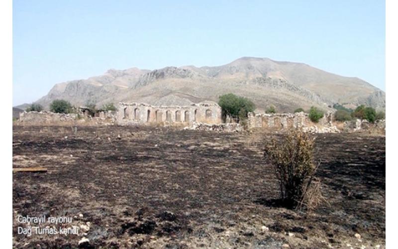 Cəbrayıl rayonunun Dağ Tumas kəndi -VİDEO