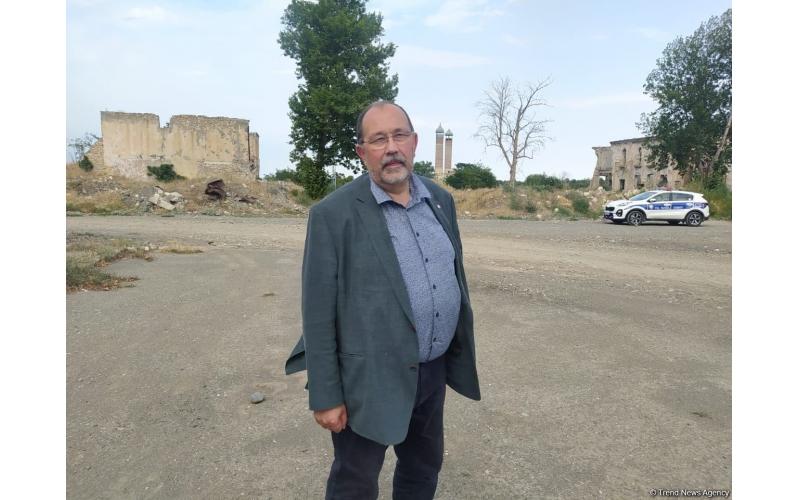 İşğaldan azad olunan əraziləri görəndə çox təsirləndik - Fransalı deputat