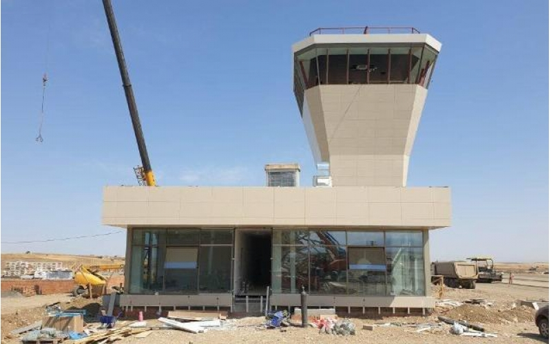 Füzuli aeroportunda son tamamlanma işləri