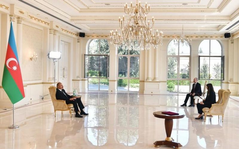 Prezident İlham Əliyev BMT-nin Azərbaycandakı yeni rezident əlaqələndiricisini qəbul edib