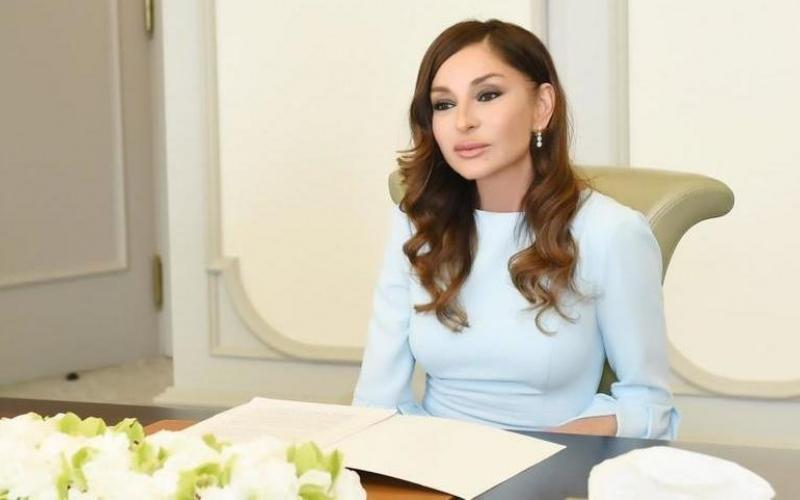 Birinci vitse-prezident Mehriban Əliyeva şəxsi İnstaqram səhifəsində paylaşım edib
