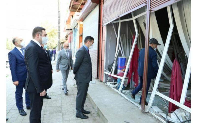 Ermənistanın təxribatı nəticəsində sahibkarlara dəyən ziyan aradan qaldırılır
