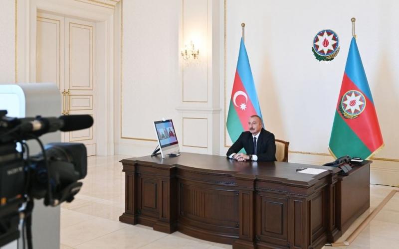 """Zəfər xronikası: 7 oktyabr 2020-ci il Prezident İlham Əliyevin """"Euronews"""" televiziyasına müsahibəsi"""