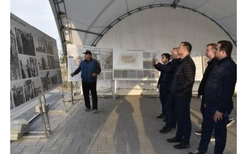 Ukrayna Ali Radasının nümayəndə heyəti Ağdamda erməni vəhşiliklərinin şahidi olub