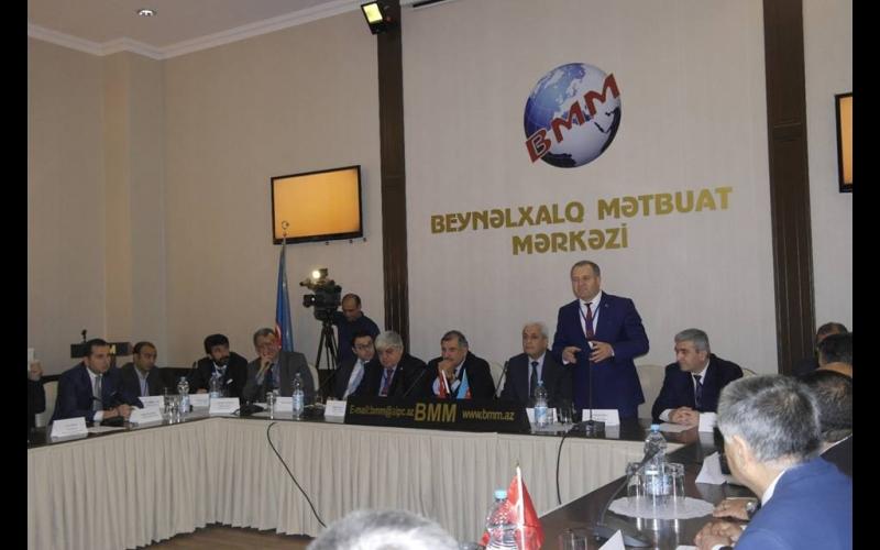 Azərbaycan, Türkiyə, Gürcüstan  QHT-lərinin brgə iştirakı ilə İşğala, Terrora və Əsassız  İddialara qarşı Beynəlxalq Forumu təsis edildi