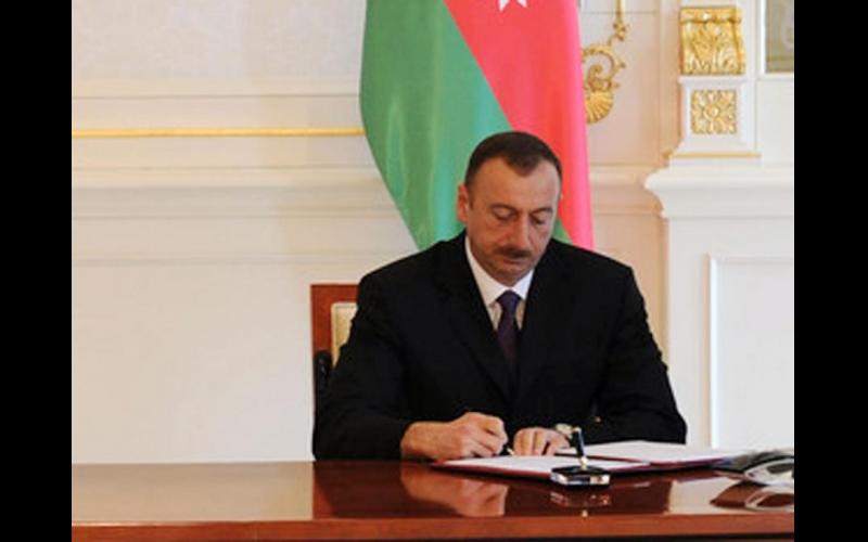 Azərbaycan prezidenti İlham Əliyev  yeni qurumun yaradılması haqqında fərman imzalayıb