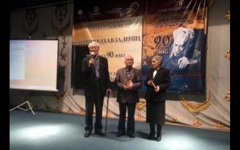 Almatıda Bəxtiyar Vahabzadənin 90 illik yubileyi qeyd olundu