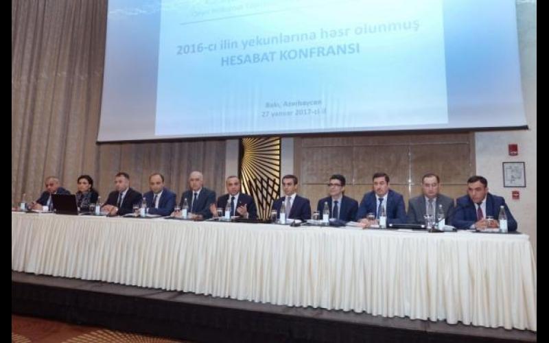 QHT-lərə Dövlət Dəstəyi Şurası 2016-cı ildəki fəaliyyəti haqqında hesabat verdi