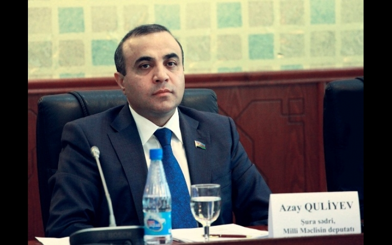 """Azay Quliyev: """"Məqsədimiz ictimai nəzarətin təminatına kölgə salacaq qanunsuzluqları aradan qaldırmaqdır"""""""