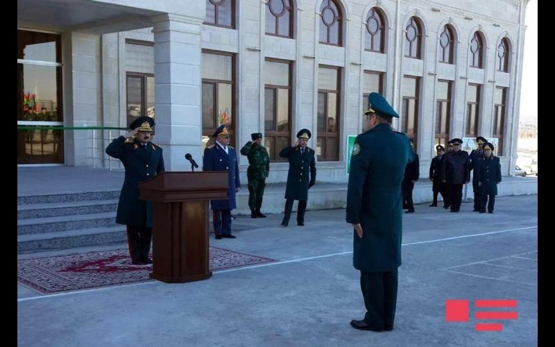 """DSX-nin """"Samur"""" sərhəd zastavası kompleksi xidməti istifadəyə verilib"""