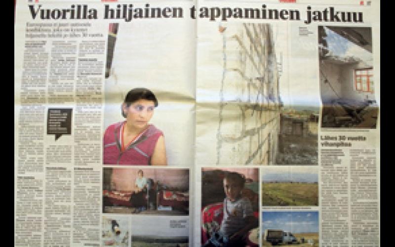 Finlandiyalı jurnalist Avropanı Dağlıq Qarabağ münaqişəsinə laqeyd mövqe göstərməkdə ittiham edib