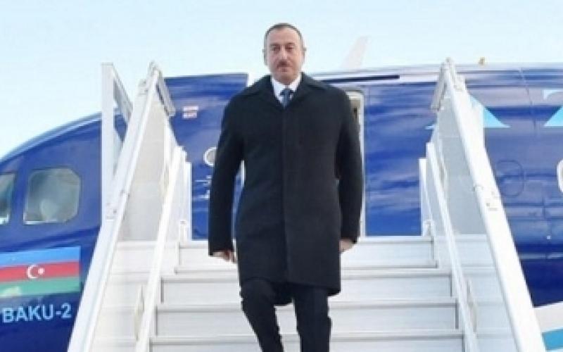 Prezident İlham Əliyev ABŞ-a səfər edib