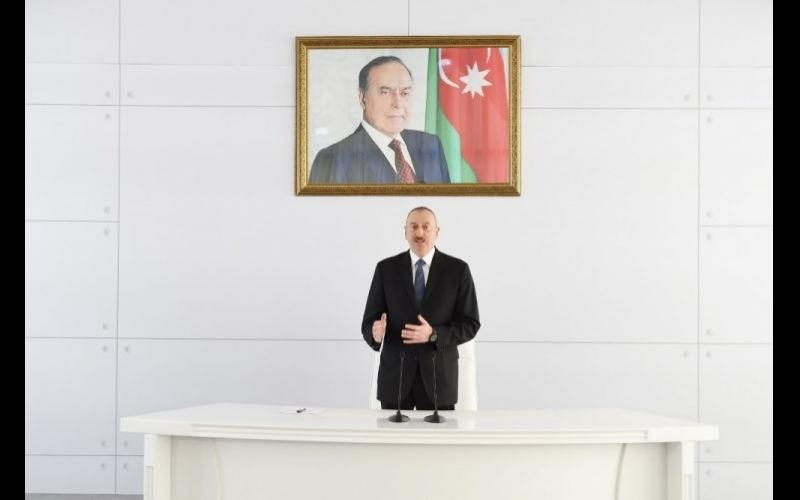 Prezident İlham Əliyev xüsusi medalla təltif edilib